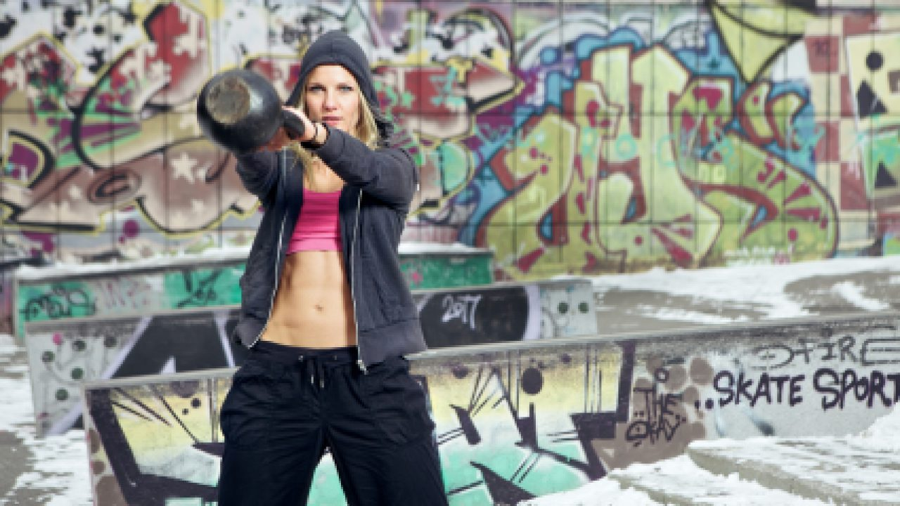 Crossfit training in ghetto