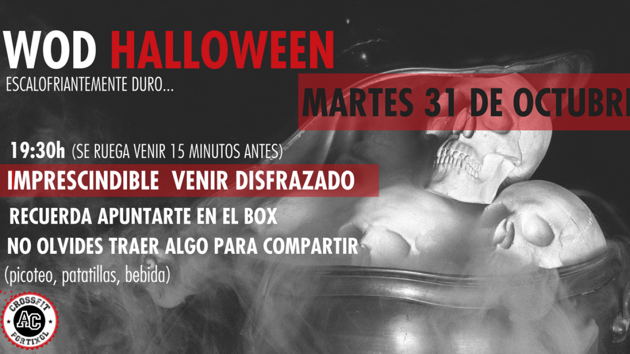 evento halloween crossfit