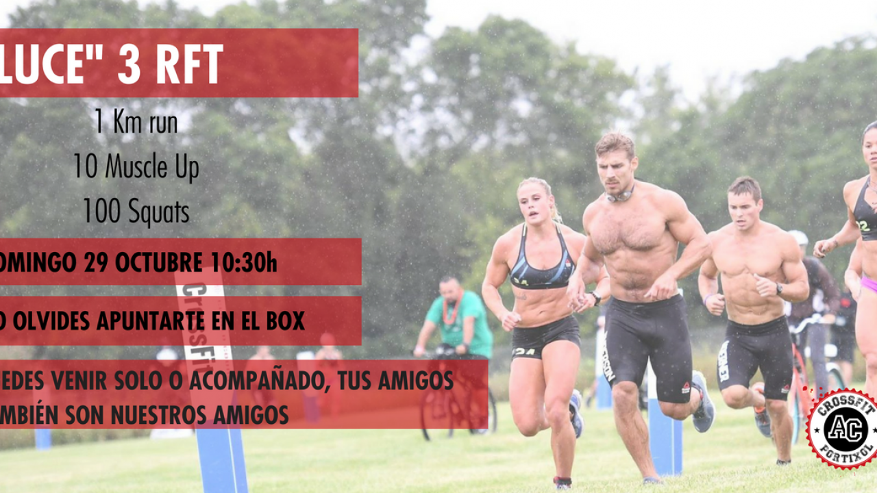Evento LUCE WOD HERO